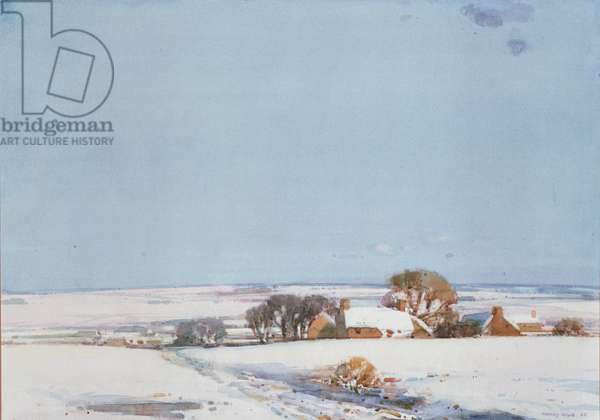 Winter Landscape, 1920 (w/c on paper)
