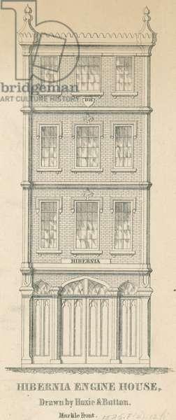 Hibernia Engine House, c.1850 (litho)