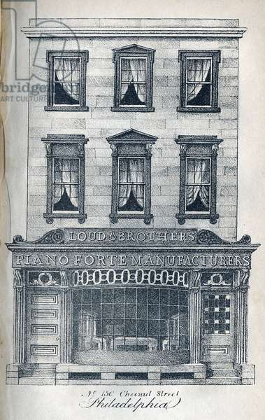 No. 150 Chesnut Street Philadelphia., printed by Kennedy & Lucas's Lithography, 1831 (litho)