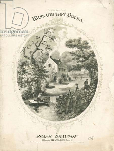 Wissahickon polka, c.1858 (litho)