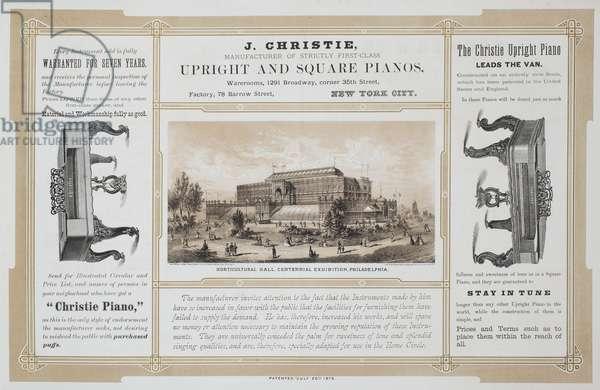 Centennial album, c.1875 (litho)