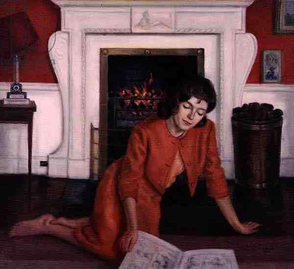 Mariga, The Hon. Mrs Desmond Guinness, 1963 (oil on canvas)