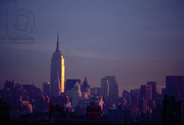 The Empire State Building, New York, USA (photo)