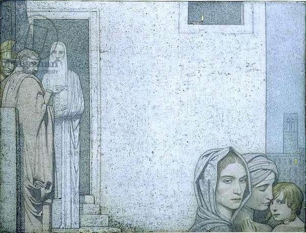Reminiscence, 1908 (tempera on board)