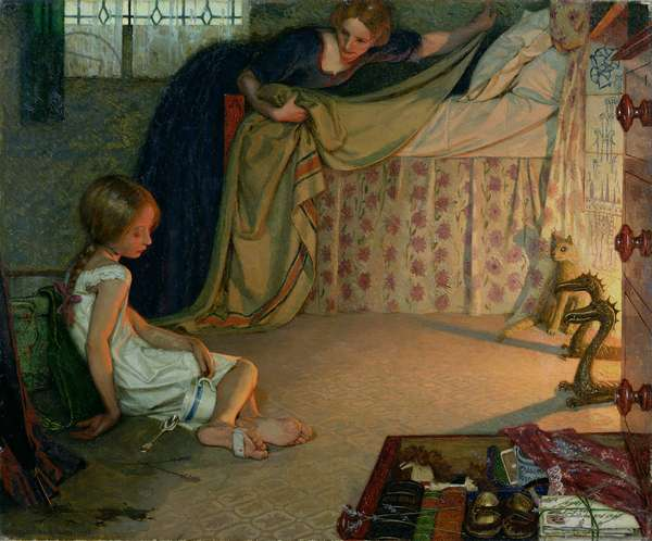 The Foundling, 1896 (oil on canvas) (see also 71045)
