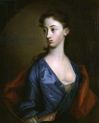 Portrait of Miss Reynolds, Sister of Richard Reynolds (1674-1743) Bishop of Lincoln (oil on canvas)