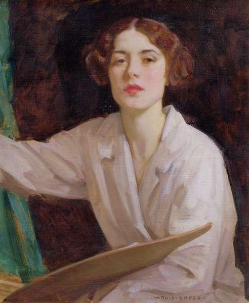 Lady Diana Bridgeman (oil on canvas)