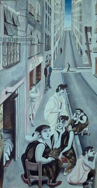 The Nitpickers, 1932 (w/c on paper)
