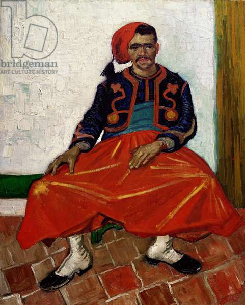 The Zouave, 1888 (oil on canvas)
