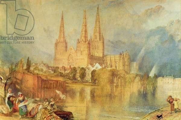 Lichfield, c.1830-35 (w/c on paper)