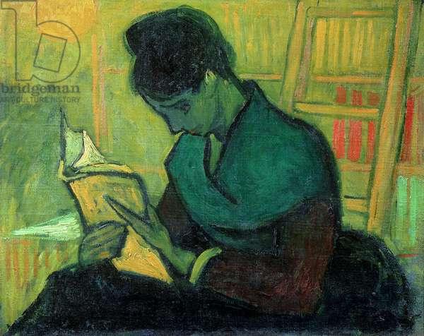 The Novel Reader, 1888 (oil on canvas)