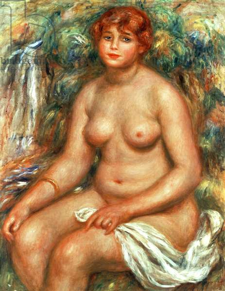 Seated Bather, 1916 (oil on canvas)