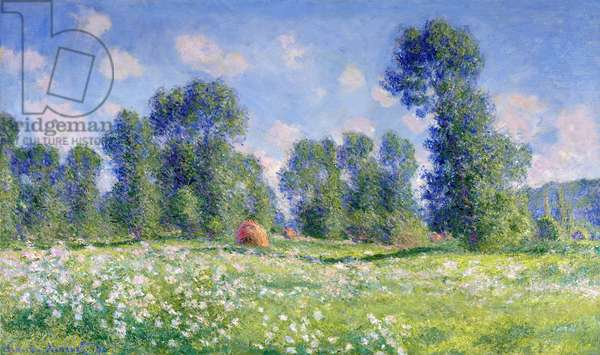 Effect of Spring, Giverny, 1890 (oil on canvas)