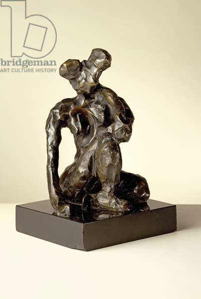 Seated Woman (bronze)