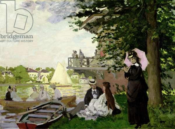Garden House on the Zaan, Zaandam, 1871 (oil on canvas)