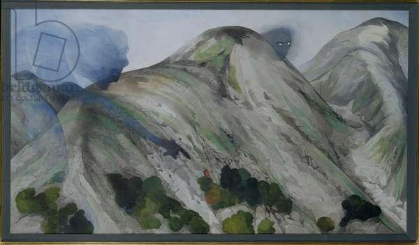 Snowdonia No. 2 (w/c on paper)