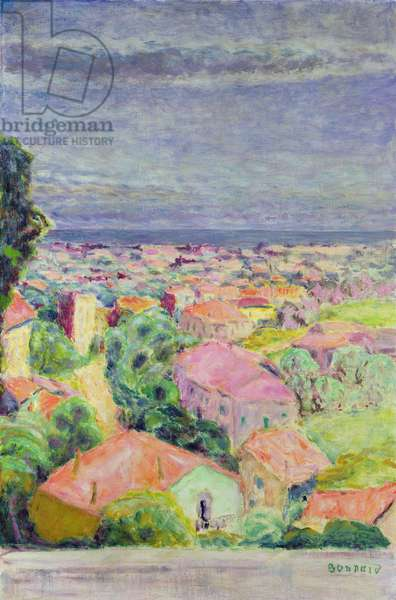 View of Cannet, c.1940 (oil on canvas)