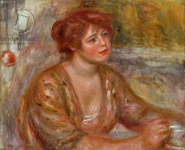 The Cup of Coffee, Portrait of Andree (called Dede) 1917 (oil on canvas)