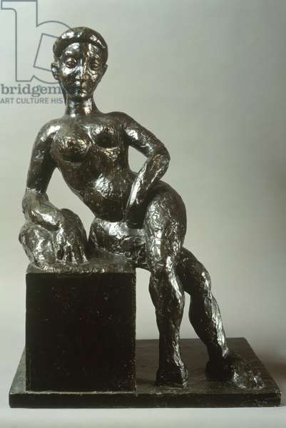 Decorative Figure, 1908 (bronze)
