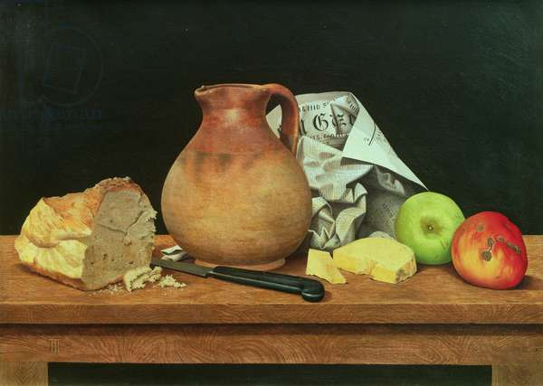 Still Life (oil on canvas)