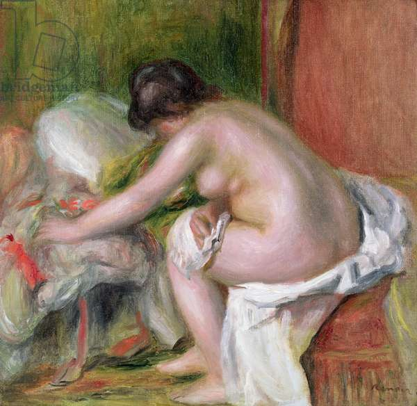 Seated Bather, 1898 (oil on canvas)