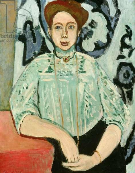 Greta Moll, 1908 (oil on canvas)