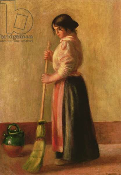 The Sweeper, 1889 (oil on canvas)