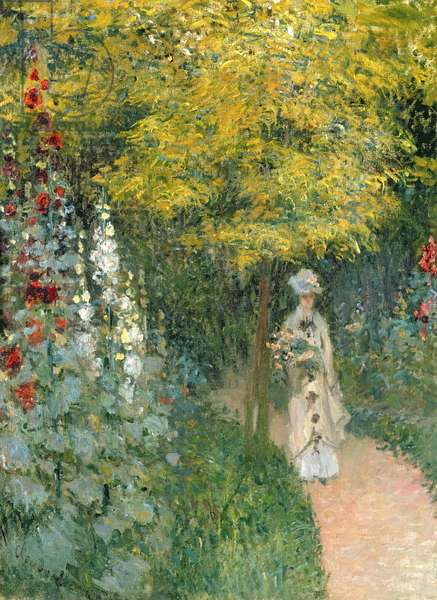 Rose Garden, 1876 (oil on canvas)
