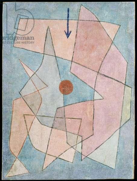 Tragodia, 1933 (no 31) (w/c on primed gauze on wooden panel)