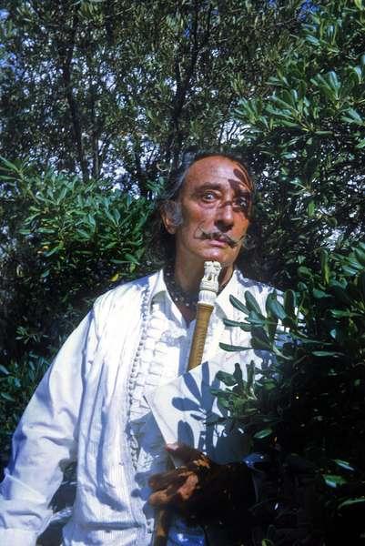 Salvador Dali 1971 (photo)