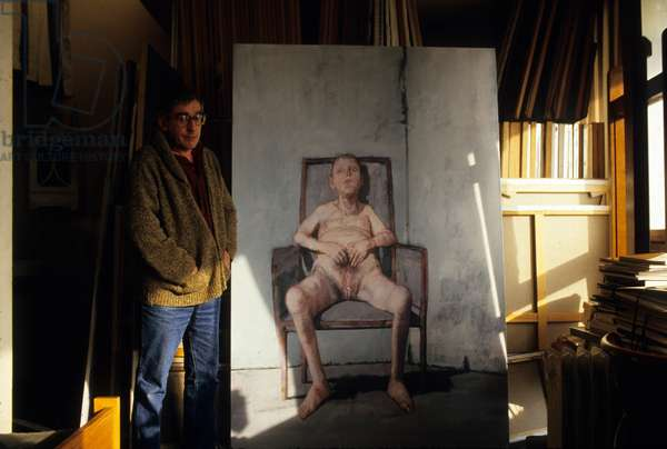 Jean Rustin, french painter (photo)