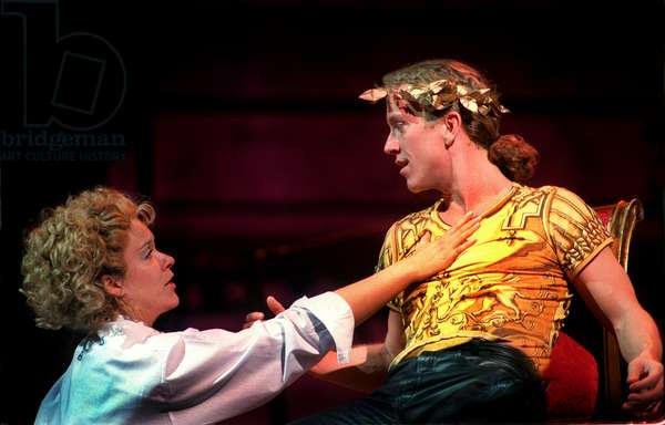 Alice Coote and David Walker in Poppea