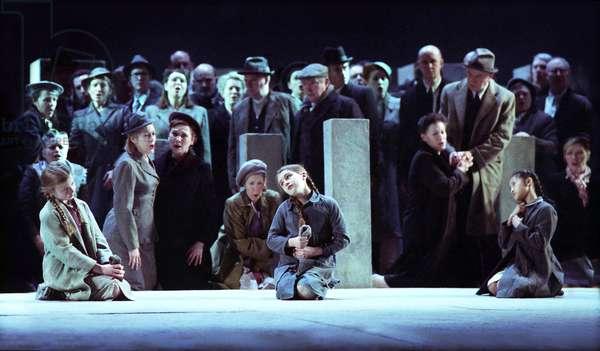 Royal Opera production of Giuseppe Verdi's Nabucco