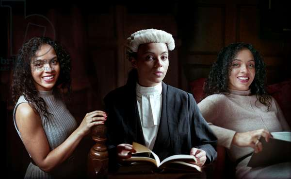 Alexandra Wilson, the Inns of Court, the Middle Temple, London, UK, 2020 (photo)