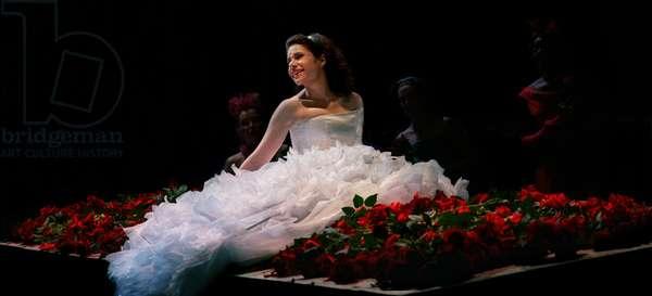 Ana María Martínez as Rusalka in Dvorak's opera 'Rusalka', Glyndebourne Festival 2009
