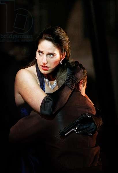 Amanda Echalaz as Amelia in Un Ballo in Maschera