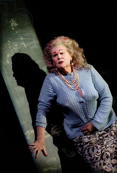 Anja Silja as Witch in 'Hänsel und Gretel'