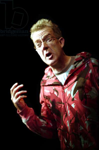 Bill Bankes-Jones in 'La Cantatrice Chauve' by Eugene Ionescco, Tete a Tete at Riverside Studios, London, 2007 (photo)