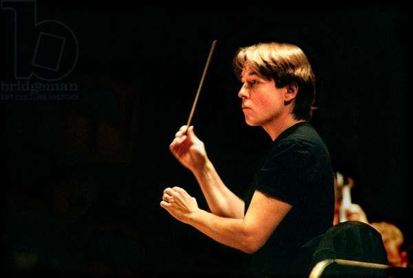 Esa-Pekka Salonen in rehearsal