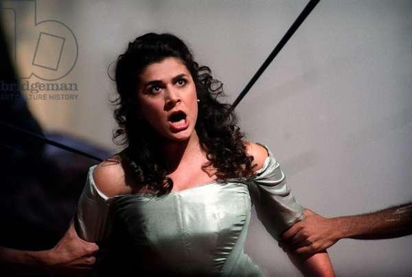 Cecilia Bartoli in performance