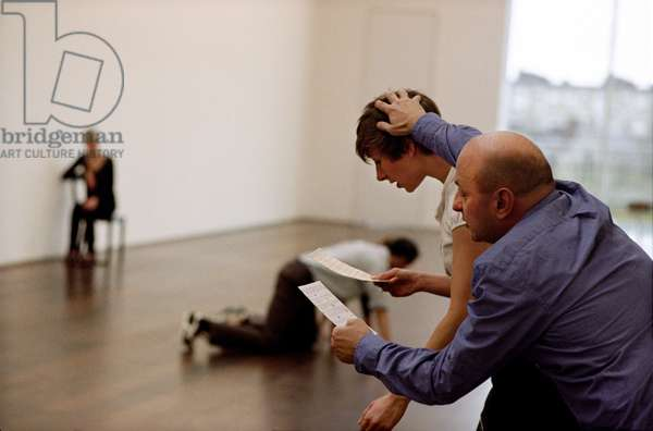 Catherine Bennett and Matthias Sperling in 'The Collection'