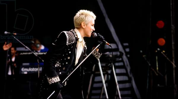 Annie Lennox of the Eurythmics, Nelson Mandela 70th Birthday Tribute Concert