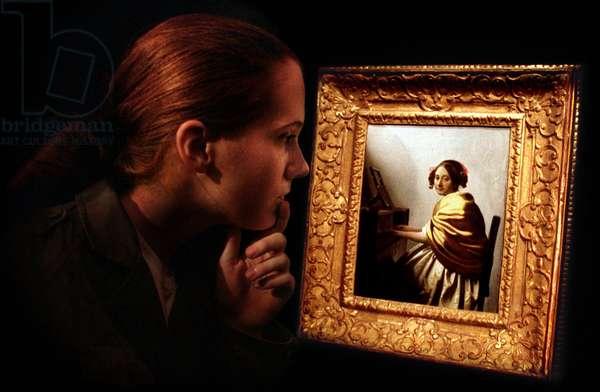 Johannes Vermeer painting 'A