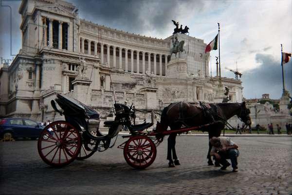 Monumento Nazionale a Vittorio Emanuele, Altare Della Patria, central Rome, Italy (photo)