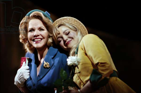 Renee Fleming - Margaret Johnson Dove Cameron - Clara Johnson The Light in The Piazza at The Royal Festival Hall (photo)