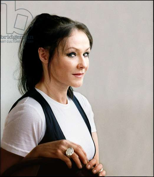 Frances Barber, portrait of the actress at home (photo)