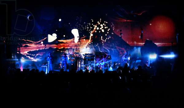 Hawkwind, live performance of Space Ritual (photo)