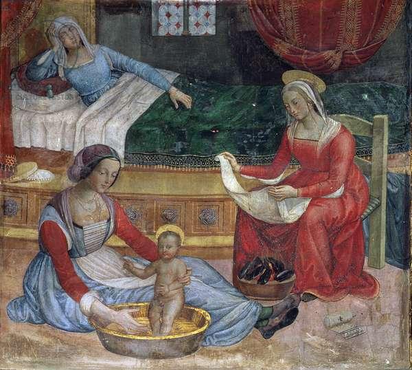 The Birth of St. John the Baptist (fresco)