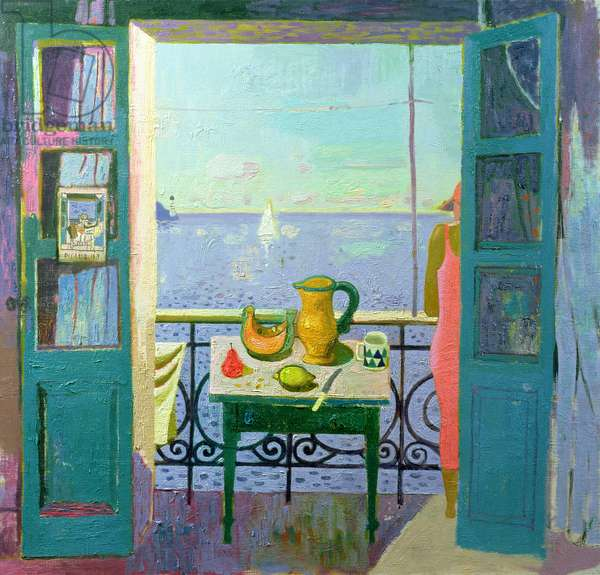 Looking out to Sea, 1998 (oil on canvas)