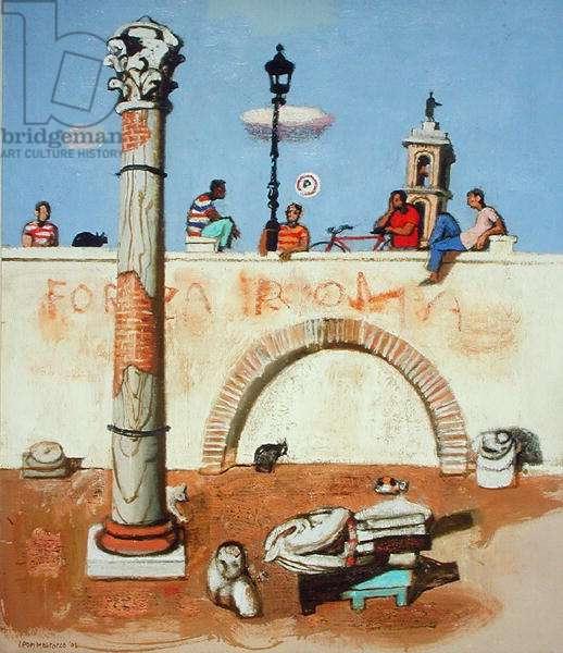 Regazzi di Roma, 2003 (oil on canvas)